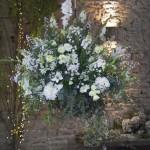 Interior flower arrangement