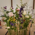 Table Flower Arrangement by Go Wild Flowers (Beth Cox)