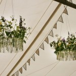 Interior Marquee Flower Arrangement by Go Wild Flowers (Beth Cox)