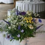 Wedding Table Flowers by Go Wild Flowers (Beth Cox)