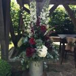 Interior large flower arrangement